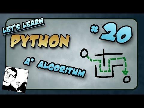 Let's Learn Python #20 - A* Algorithm