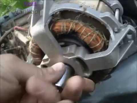 Ремонт электрической газонокосилки своими руками видео