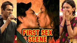 Nawazuddin Siddiqui REACTS To His FIRST $ex Scene In Babumoshai Bandookbaaz