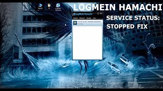hamachi service status stopped fix