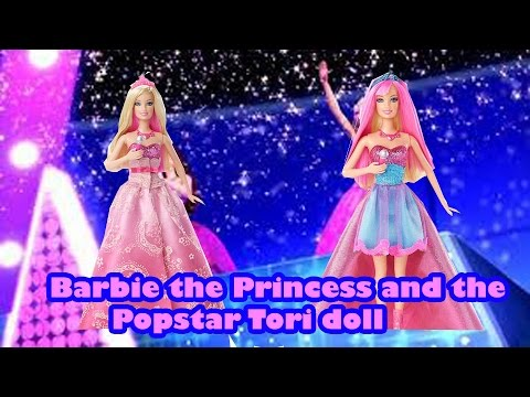 Barbie the princess and the Popstar doll