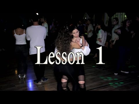 "Lidar and Hadar Bachata Lesson 1 ""One Call Away"""