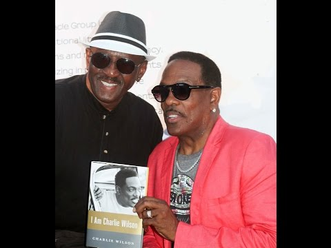 Charlie Wilsons book signing in the DMV ( I AM CHARLIE WILSON )