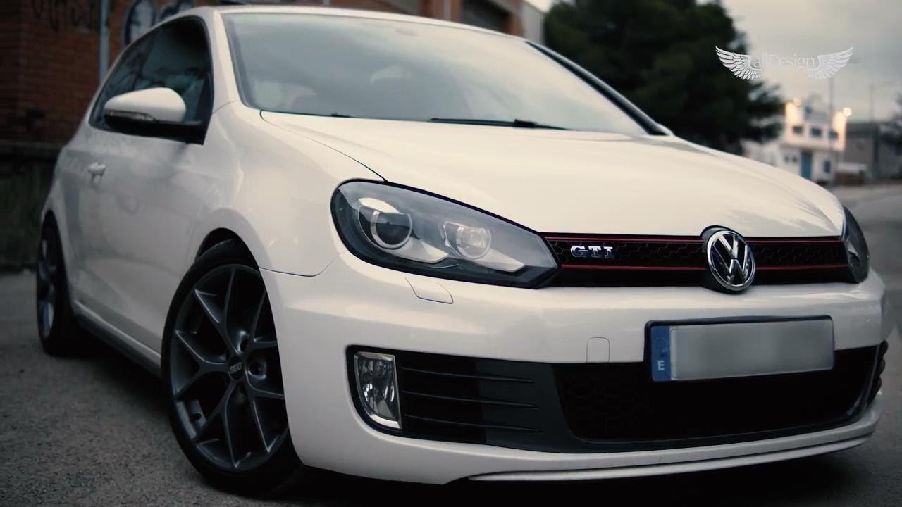 Volkswagen Golf MK6 GTI Armytrix Cat-Back Exhaust & BBS Wheels by allDesign Spain - YouTube