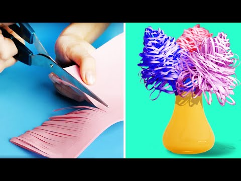 28-easy-paper-crafts-||-diy-decor-and-gifts