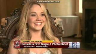 danielle bradbery talks about her first single local news coverage