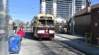 TTC PCC Streetcar at Bingham Loop - Kingston & Victoria Park