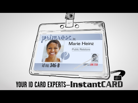 Basic ID Badges to Advanced Smart Cards—InstantCard