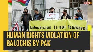 Baloch Activists Protest Outside UN Demanding Freedom from Pakistan Genocide