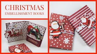 ‼️USE STORE BOUGHT GIFT TAGS TO MAKE THIS CHRISTMAS EMBELLISHMENT BOOK‼️ [[CRAFT FAIR EYE CATCHER]]