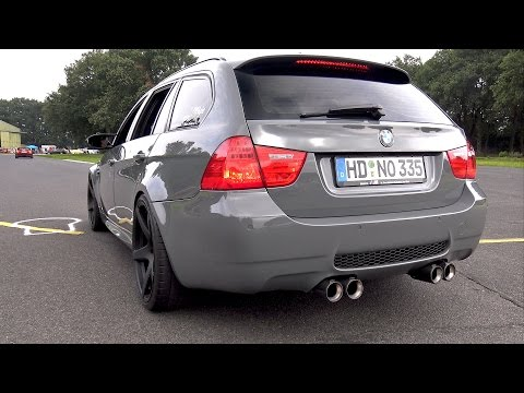 UNIQUE! Manhart BMW M3 Touring with M5 V10 engine!
