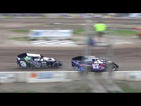 B Mod Heat Race #2 at Mt. Pleasant Speedway on 06-15-18.
