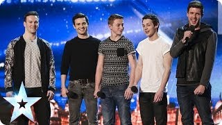 Collabro sing Stars from Les Misérables | Britain's Got Talent 2014 thumbnail