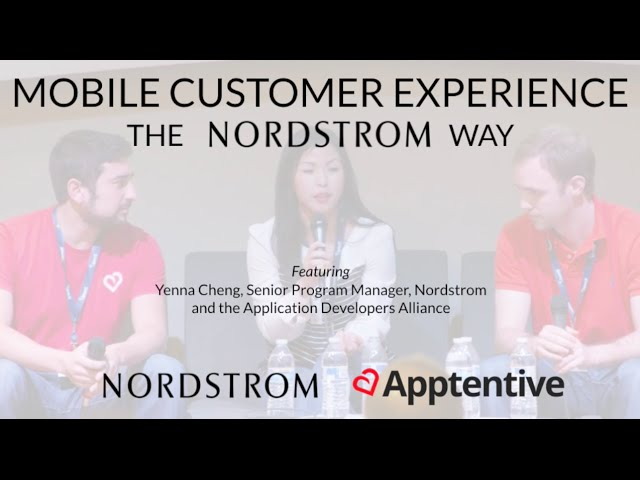 Post for video 'Mobile Customer Experience the Nordstrom Way