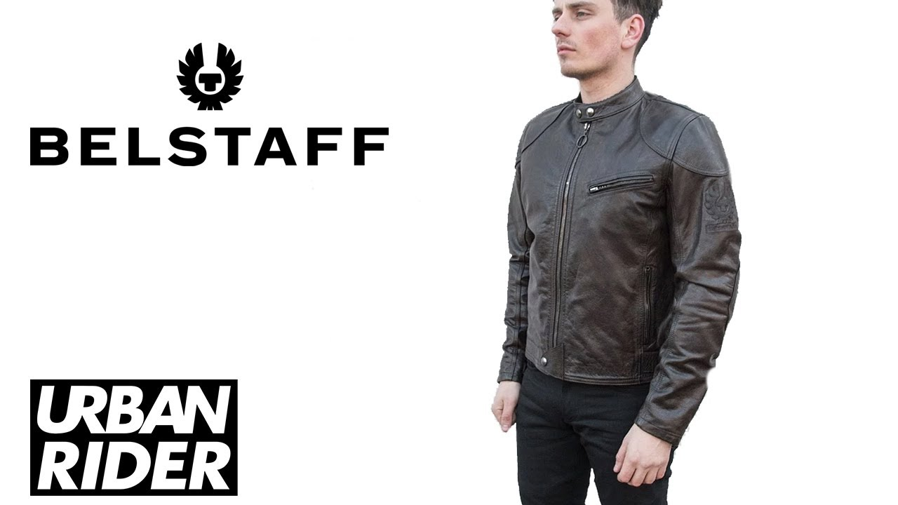 9578f98de7 Belstaff Supreme Hand Waxed Leather Bike Jacket Review - YouTube