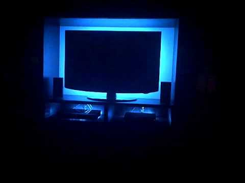 Multi Colour Changing Led Light Strip Behind Tv Remote