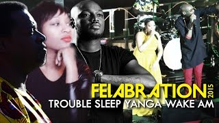 """Trouble Sleep Yanga Wake Am"" - Terri Walker, 2face Idibia & Dele Sosimi (Felabration 2015)"