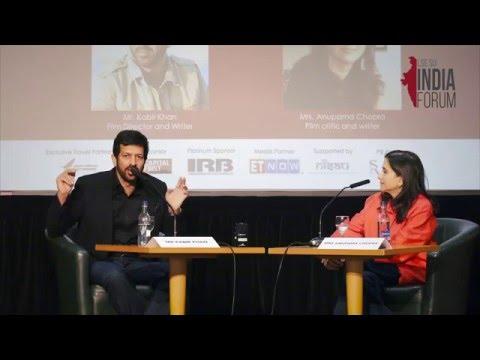 Kabir Khan at LSE  In Conversation with Anupama Chopra  LIF 2016