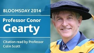UCD Honorary Degree of Doctor of Laws for Conor Gearty | Bloomsday 2014