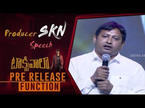 Producer SKN Speech @ Taxiwaala Pre Release Event   Allu Arjun, Vijay Deverakonda