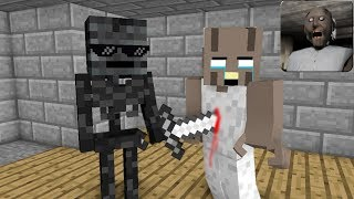 - Monster School GRANNY HORROR GAME CHALLENGE 2 Minecraft Animation
