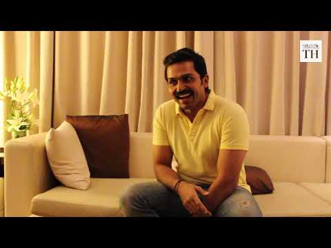 In conversation with Karthi