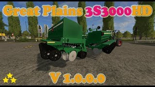 "[""Great Plains 3S3000HD"", ""Mod Vorstellung Farming Simulator Ls17:Great Plains 3S3000HD""]"