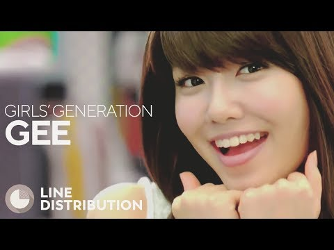 GIRLS GENERATION  Gee Line Distribution