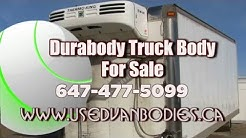 Durabody, Used 24 ft. aluminum Durabody insulated truck box, body with reefer Toronto Ontario.