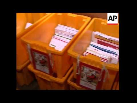 More than half a million letters arrive in Santa Claus' Post Office each year