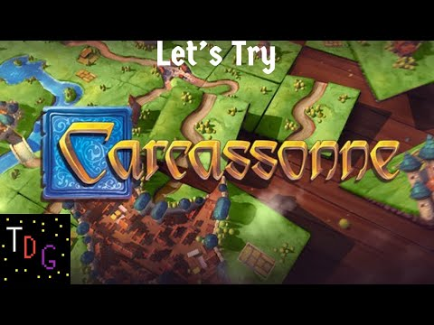 Let's Try - Carcassonne...Carcasone...Carcasson |