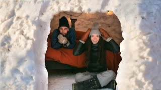 Can We Survive 24 Hours Living in an Igloo?