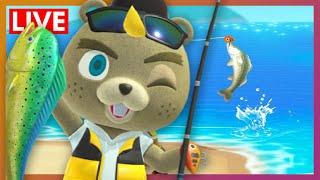 Fishing Tourney Prep | Animal Crossing New Horizons 'Quaranstream' LIVE