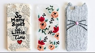 3 KOLAY TELEFON KABI / DIY Phone Cases (ENG SUB)