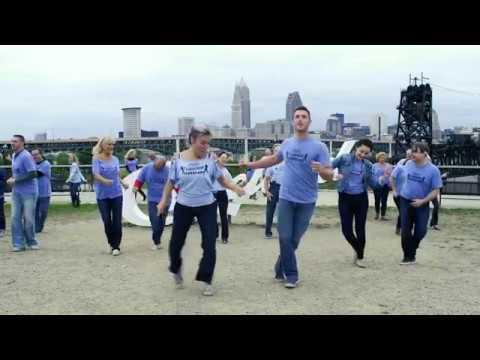 Cleveland-International West Coast Swing Flash Mob 2017
