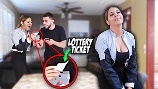 YOU WON THE $2 BILLION LOTTERY PRANK! *SHE CRIED*