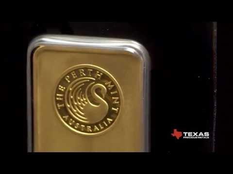 Perth Mint 1 oz Gold Bar - Texas Precious Metals