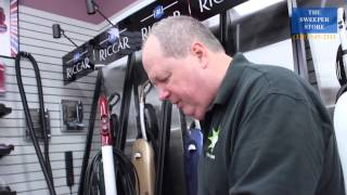 Riccar Radiance Vacuum Cleaner Demo. Wooster Ohio Vacuum Cleaner Review