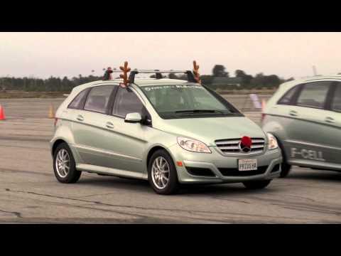B-Class F-CELL Event -- Mercedes-Benz Hydrogen Fuel Cell Vehicles