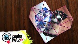 DIY-Tipp: Puzzle zum Valentinstag | Tiere bis unters Dach | SWR Kindernetz
