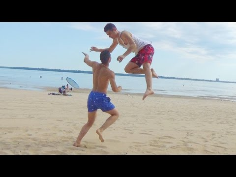 WWE MOVES AT THE BEACH 2