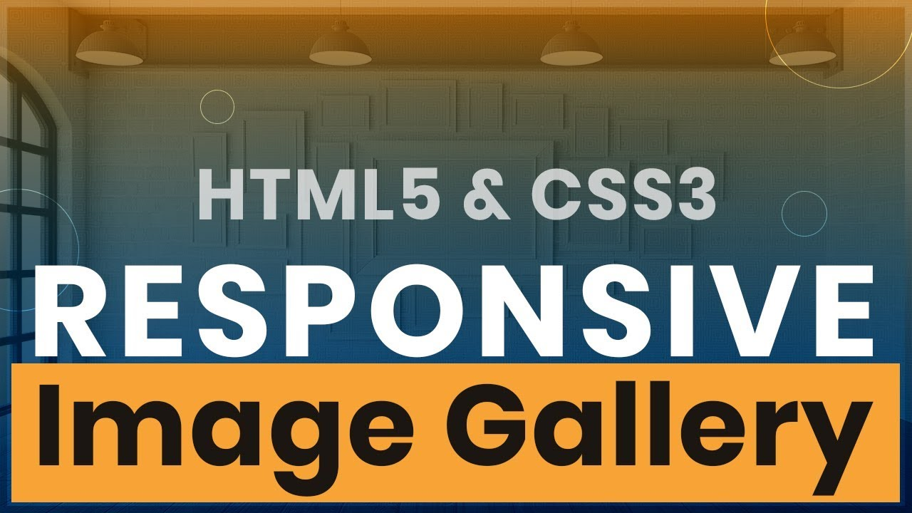 CSS Image Gallery Tutorial - Responsive Gallery with HTML and CSS Flexbox