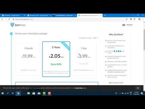 Use 100% Crack Zenmate VPN Proxy Free Stpe By Step 2019