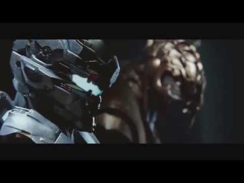 Halo 5 Guardians Agent Jameson Locke and Thel 'Vadam Arbiter Cutscene Preview