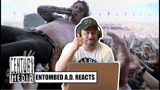 ENTOMBED A.D. - L.G. Petrov reacts to BAEST