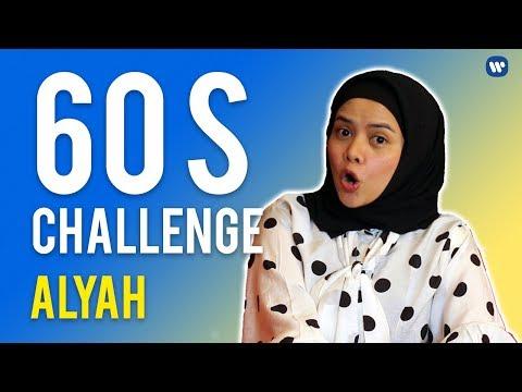 Free Download Alyah | #60schallenge Mp3 dan Mp4