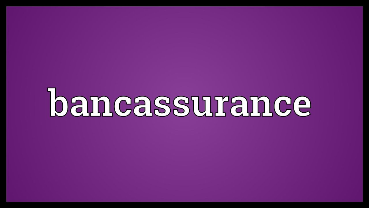 bancassurance The bancassurance market: global industry trends, share, size, growth, opportunity and forecast 2018-2023 report has been added to researchandmarketscom's offering the global bancassurance.