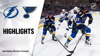 Download Mp3 Nhl Highlights | Lightning @ Blues 11/19/19 Gudang lagu