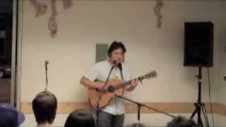 Goh Nakamura Explains Tour - Embarcadero Blues 9/11/09 Giant Robot Eats (gr/eats)