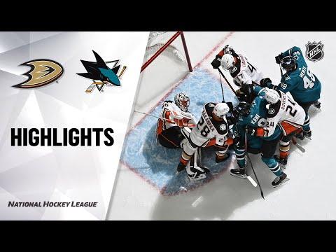 Ducks @ Sharks 2/15/21 | NHL Highlights